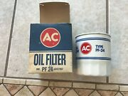Nos Ac White Pf24 Buick-olds-pontiac Oil Filter