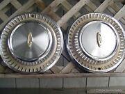2 Vintage 1963 Chrysler New Yorker Fifth Ave Hubcaps Wheel Cover Dodge Plymouth