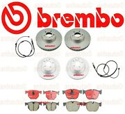 New Bmw X5 Xdrive35i Brembo Front And Rear Disc Brake Rotors Pads + Wear Sensors