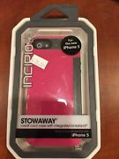 Incipio Stowaway High Quality Plextonium Shell And Silicone Case For Iphone 5