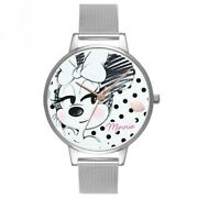 Kids Watches Minnie Mouse Cartoon Printed Students Girl Fashion Gift Accessories