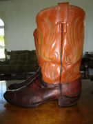 Rare - Vintage Hyer Lizard Boots - Menand039s 10 - 10.5