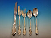 Rhapsody By International Sterling Silver Flatware Set For 8 Service 40 Pieces