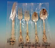 Fontana By Towle Sterling Silver Flatware Set For 8 Service 40 Pieces New