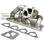 Fit 05-06 Mit Evo 7/8/9 4g93t Td05 Cast Stainless Steel Turbo Manifold Exhaust