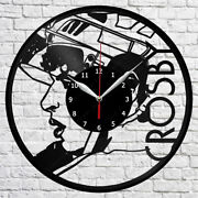 Sidney Crosby Vinyl Record Wall Clock Home Fan Art Decor 12and039and039 30 Cm 7241