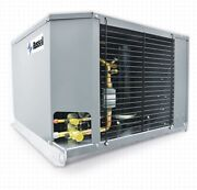 New Russell 1.25 Hp Outdoor Condensing Unit 208/230/1ph Rfh125e4s-d Ext.med.temp