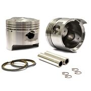 Honda Cb400 And Cm400 Twin Pistons And Rings Stock Compression Standard 70.5mm Bore
