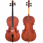 Scherl And Roth Hand Crafted Galliard Student 3/4 Cello With Bag Rosin Bow