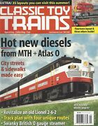 Classic Toy Trains May 2005 Revitalize An Old Lionel 2-6-2 /mth Alco Fa-2g746