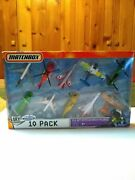 2007 Matchbox Sky Busters 10 Pack Boeing 747 Jungle Jumper Toys-r-us Exclusive