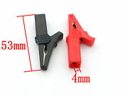 Plastic Alligator Clips Electrical Crocodile Clamp For Test Probe Lead