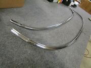 1954 Corvette Windshield Frame Upper Channel And Lower Molding New 53 55 C1