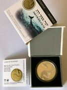 2010 Israel Biblical Jonah In The Whale 2 Nis Silver Proof Coin Coty 2012