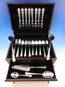 Belle Meade By Lunt Sterling Silver Flatware Set For 8 Service 45 Pieces