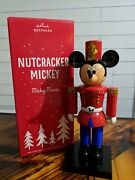 Hallmark 2015 2019 Disney Mickey Mouse Nutcracker 14.3 High Sold Out Limited