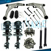 18pc Front Struts And Spring Assembly Control Arm Kit For 2009-2014 Nissan Maxima