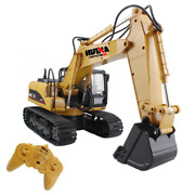 Rc Excavator Tractor Toy Construction Vehicles For Kids Boys Die Cast Model