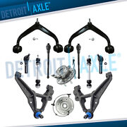Drw 4wd 12pc Front Control Arm Hub Bearing For 11-15 Chevy Silverado 2500 3500hd