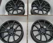 18 Tesla Model 3 Factory Original Wheels Rims Caps Set 4 2018 New Black