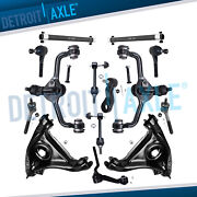 16pc Front Control Arms Wheel Hub Kit For 1998-2002 Ford Crown Victoria Town Car