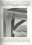 Woodworker's Journal Jul/aug 1983 Chinese Tea Table/antique Sugar Chest G720