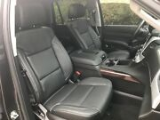 2020 Chevrolet Tahoe Two Row Katzkin Black Leather Seat Covers Replacement Kit