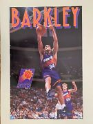Charles Barkley, Phoenix Suns,nba,official Licensed 1993 Poster