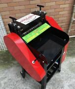 Heavy Duty Chain Wire Stripper Machine Scrap Cable And Copper Recycle Stripping