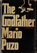The Godfather-mario Puzo-signed-1st/1st W/6.95 Dj-avery Nice Collectible Book