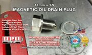 Us Made 14mm Magnetic Oil Drain Plug Yamaha Outboard Boat Engine 90340-14m06-00