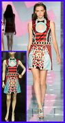 S/2015 Look 30 New Versace Stained Glass Window Mini Dress 38 - 4