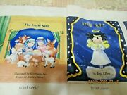 Fabric Book Panel Christmas Nativity The Little King And The Light Lot Of 2
