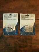 2 New And Sealed First Watch 1408 Window Slide Stop Easy Install 2 Pack Aluminum