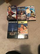 Vhs Movies Lot 007 Home Alone 2 The Ten Commandments Andre Independence Day