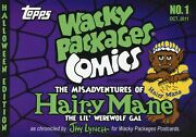 Wacky Packages Comic Book No. 1 Limited 408/650 With Jay Lynch Autograph
