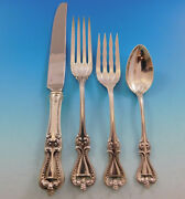 Old Colonial By Towle Sterling Silver Flatware Set Service 24 Pieces