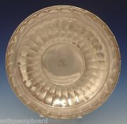 Old Colonial By Towle Sterling Silver Plate 12 Diameter 93221 0502