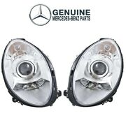 Genuine Pair Set Of Left And Right Headlight Assemblies For Mercedes W251 R350