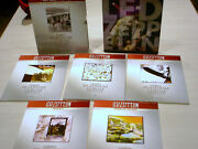 Alfred Led Zeppelin Box Set I -5 Guitar Tab Platinum Edition And Lz History Book