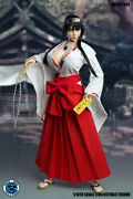 Super Duck 1/6 Set042 Japanese Witch Custume Clothes Fit 12 Tbl/ph Body