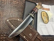 Behring Made Spear Point Camp Knife James First Knife Ever W/ Paperwork