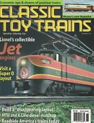 Classic Toy Trains Nov 2001 Lionel's Collectible Jet Engines / Hiawatha / G792