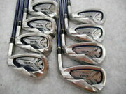 2016 Honma Be Zeal 525 Limited Edition 8pc 2-star R-flex Irons Set Golf Clubs