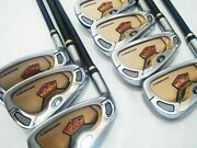 Left-handed 2-star Honma Beres Is-01 7pc R-flex Irons Set Golf Clubs Beres