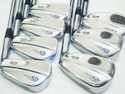 Miura Golf Clubs Mb-5002 Forged Muscle Back 7pc S-flex Irons Set