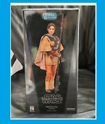 Princess Leia As Boushh Sideshow Collectibles Star Wars Statue 12 Inch