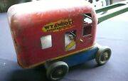 Vintage Wyandotte Construction Co., Blue/red/yellow/green Crane Toy
