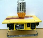 Cep 6506-g Portable Power Distribution Spider Box 50a W/ Cl100led 100w Led Light