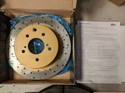 Dba Rear Drilled And Slotted 4000 Series Rotors For Nissan Skyline gt-r